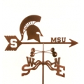 msg michigan state weathervane