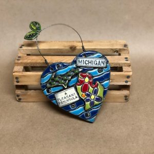 Heart Michigan Tile