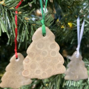 Petoskey Stone Tree Ornament