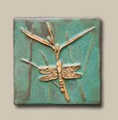 """6"""" dragonfly tile"""