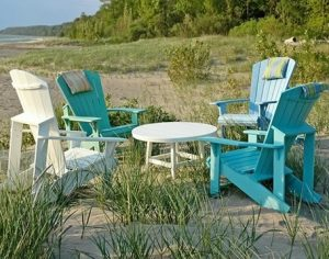 northern michigan poly adirondack furniture