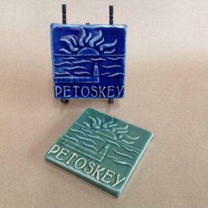 petoskey commemorative tile
