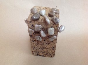 petoskey stone push pin