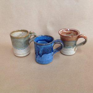 pottery espresso cup