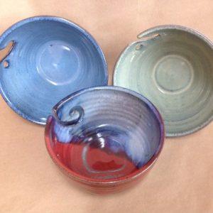pottery Yarn Bowls knitter gift