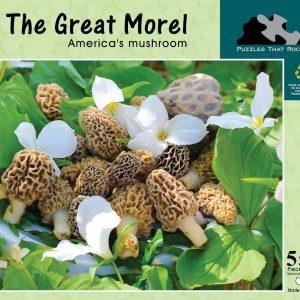 morel mushroom puzzle