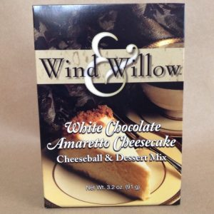 White Chocolate Amaretto Cheeseball