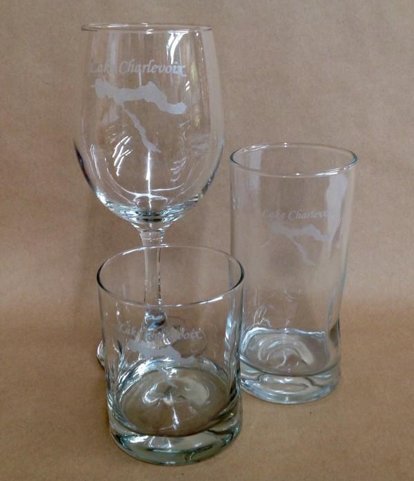 Lake Charlevoix Glassware