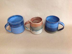 steve andrews pottery coffee mug