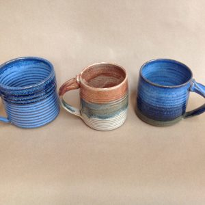 steve andrews pottery coffee mug