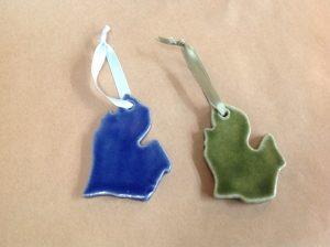 michigan mitten ornament little traverse tileworks