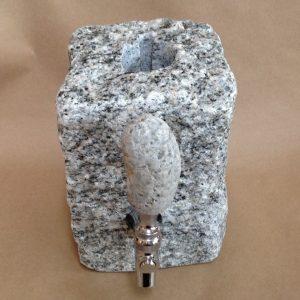 Stone drink dispenser