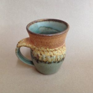pottery coffee mug