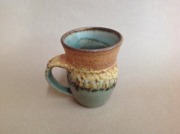 turquoise coffee cup