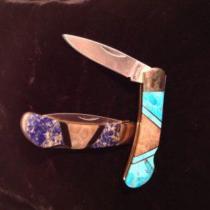 Petoskey Stone Pocket Knife