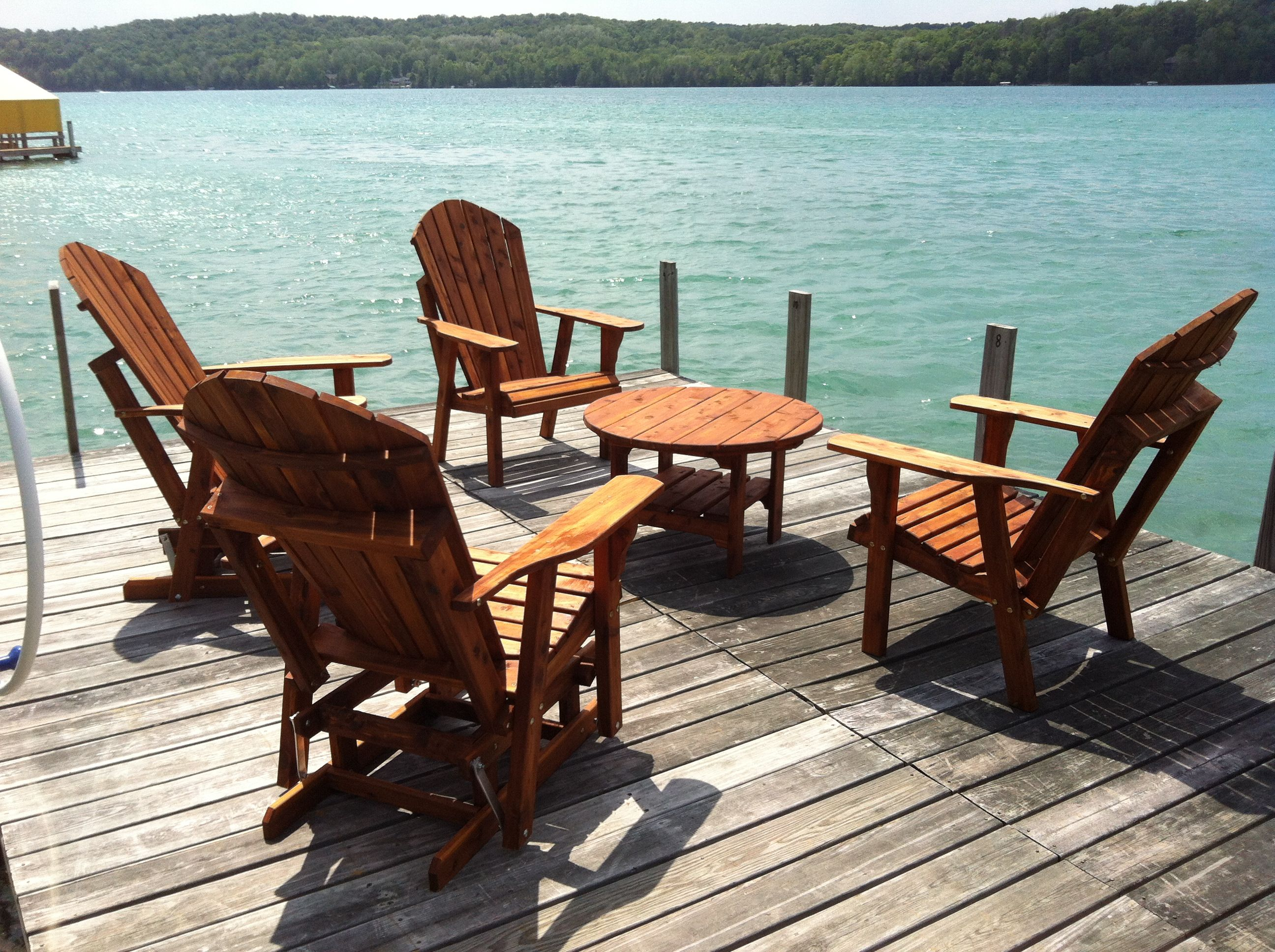 cedar adirondack furniture
