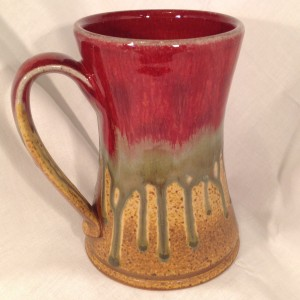 Man Mug pottery coffee mug