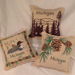 Michigan Balsam Pillows