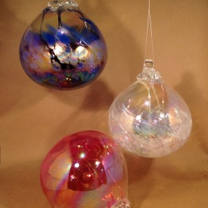 Glass Fairy Ball