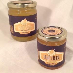 Bear Creek farms natural Honey