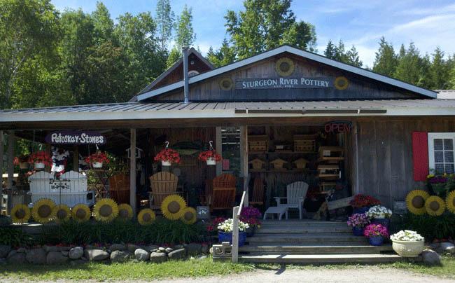 Sturgeon River Pottery Petoskey Michigan