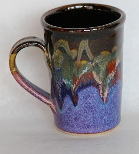 colorful pottery coffee mug petoskey