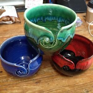 Bright Yarn Bowls