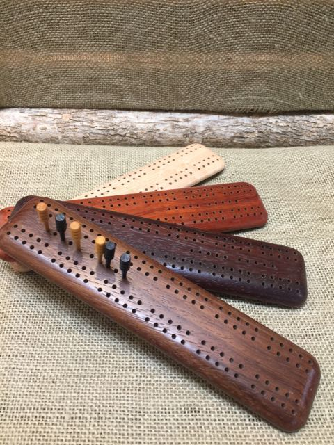 Small cribbage board