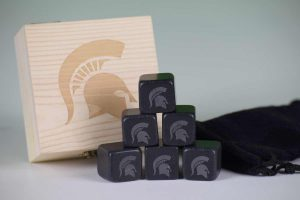 michigan state whiskey stones