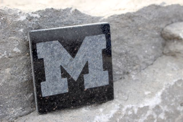 university of michigan coaster