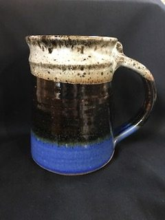 colorful beer mug