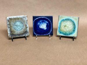 Fused Glass Tile Coaster