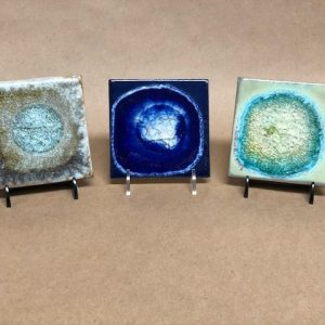 Fused Glass Tile Coaster