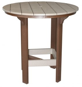 Round Bar Table 42""