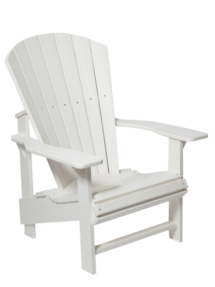 Upright Poly Adirondack Chair Sturgeon River Pottery