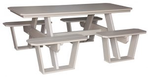 Picnic Split Bench