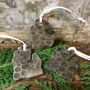 Petoskey Stone Michigan Ornament